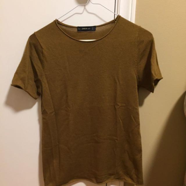 Zara Knit T-shirt