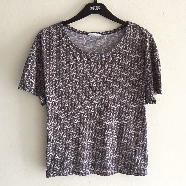 Zara Patterned Top