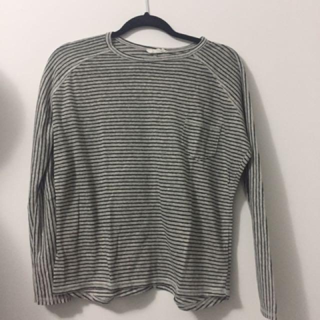 Zara Stripe Long Sleeve