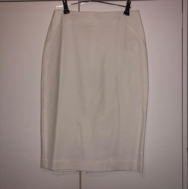 Zara white skirt XS
