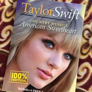 TAYLOR SWIFT AMERICAN SWEETHEART MAGAZINE