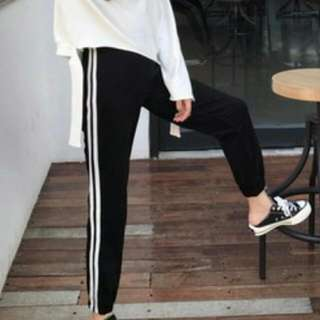 條文寬褲/條文裙/條文窄褲