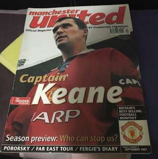 Manchester United Official Magazine, Sep 1997 Edition