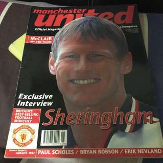 Manchester United Official Magazine, Aug 1997