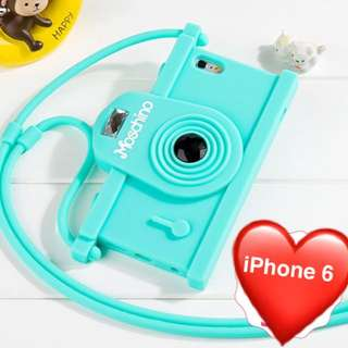 Moschino iPhone 6 Camera Case (Mint green)
