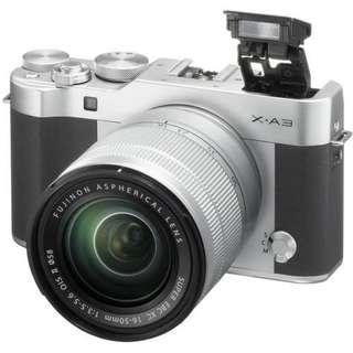 Fujifilm X-A3 kit XC16-50mm Brown kredit tanpa kartu kredit