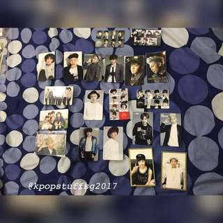 BTS OFFICIAL PHOTOCARDS CLEARANCE