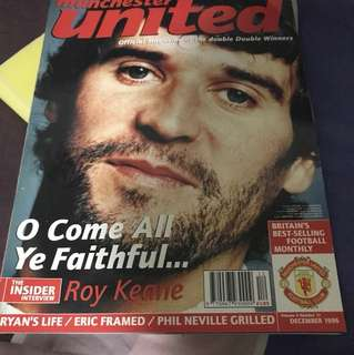 Manchester United Official Magazine, Dec 1996 Edition