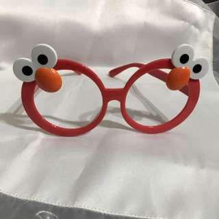 Elmo造型眼鏡
