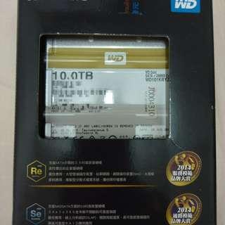 🚚 WD 金標 Gold 10TB WD101KRYZ 企業級硬碟 全新盒裝