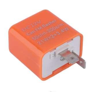 Adjustable relay flasher