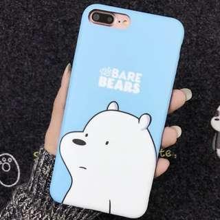 we bare bears ice bear iphone 6+ / 6s+ / 6plus case