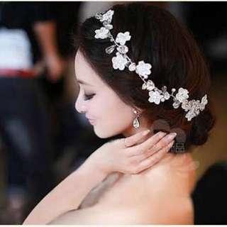 Korean Bridal Hair Accessory- Pearl