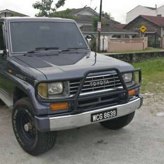 Land Cruiser II (1991 - 2.4 Petrol)
