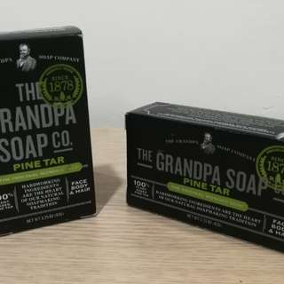 Grandpas Pine Tar Soap Original
