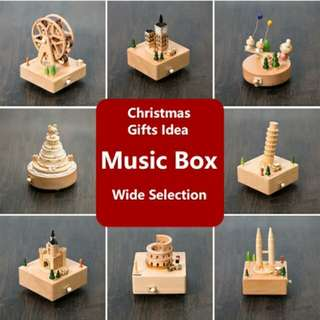 Wood Music Box Wooderful Life Perfect for Christmas Gift Present Wide Selection Xmas Gift