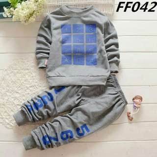 💝NUMBER BABY SET CLOTH💝