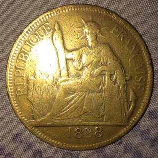 1888 French Coin