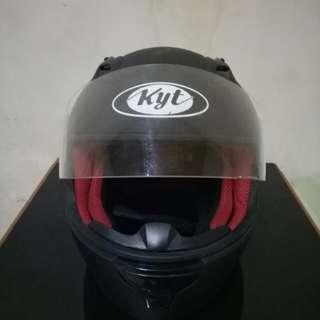 Helm KYT Rc 7 Seven Full Face Hitam Doff