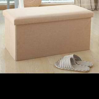 Collapsible storage bench/chair