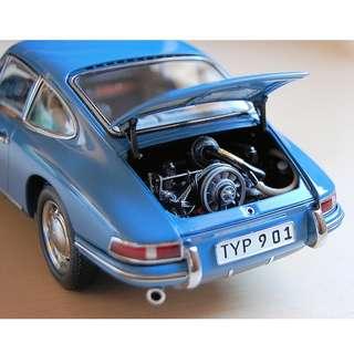 1/18 CMC Porsche 901 (911) Blue