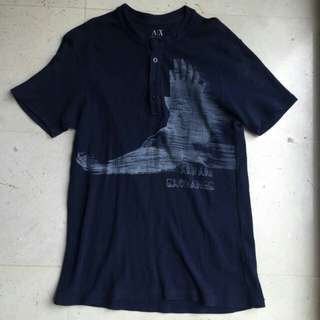 BN ARMANI EXCHANGE BUTTON TEE