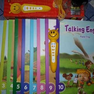 Books/ talking english