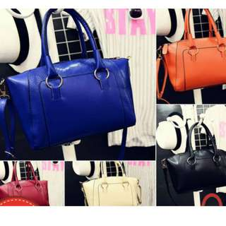 Ebichu Emboss Bag - Leather Faux Crocodile Shopper Women Satchel Tote Handbag