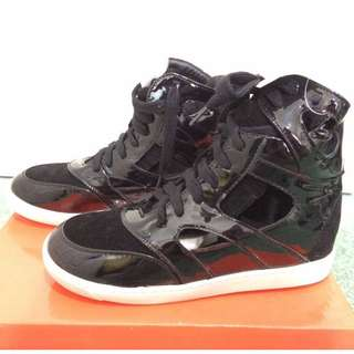 Black sneaker wedges (BNWT)