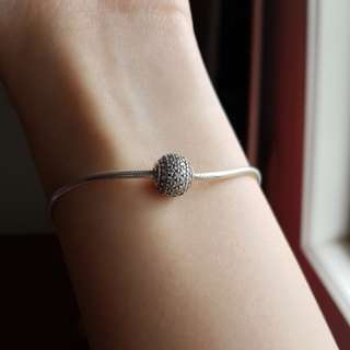 Pandora Essence Generosity Pave Charm