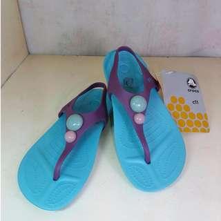 Authentic Crocs toddler's sandals size C11