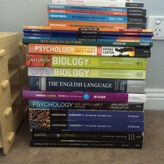 Yr 11 And 12 Text Books