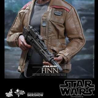 Hot Toys Star Wars TFA Finn*Body Only plus all accessories
