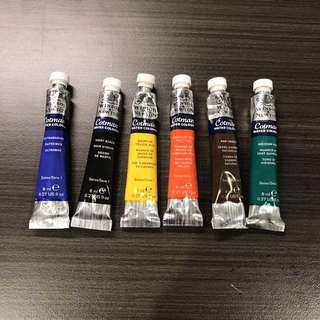 Winsor newton watercolour(price can be nego)