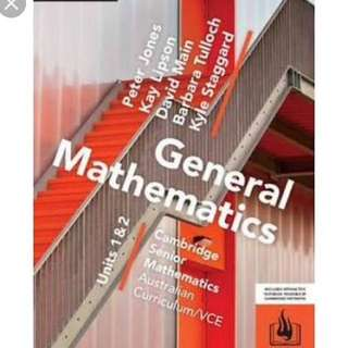 Textbook General Maths