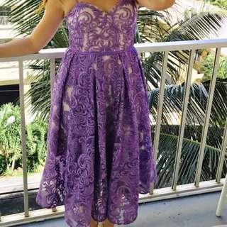 Jadore Lilac Dress