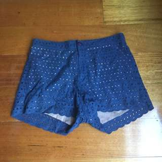 Gorman broderie anglaise shorts