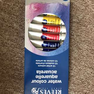 Reeves Watercolour Paint Set 12 pack