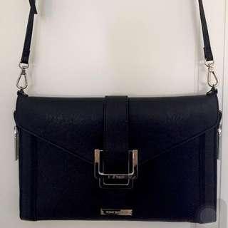 Tony Bianco Black Cross Body Bag