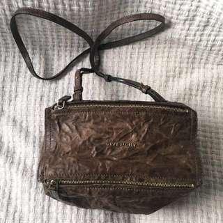 Authentic Givenchy Pandora Pepe Mini-Messenger Bag