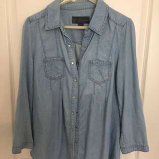 Forever new denim top