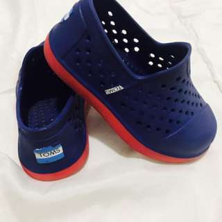 Authentic  Blue Tom's Shoes for Toddlers