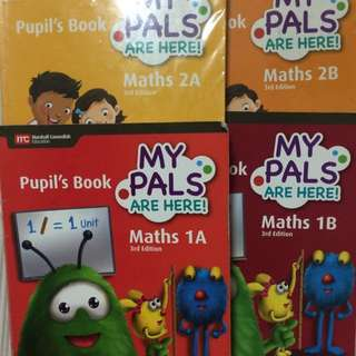 Pri 1, 2 & 4 First steps to music 🎵 & My Pals are Here Maths Textbooks