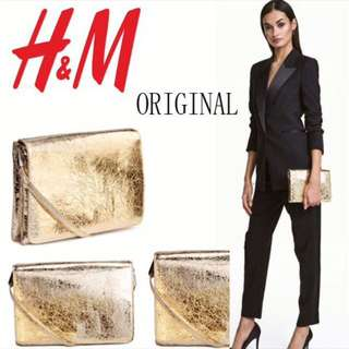 Original H&M golden slingbag