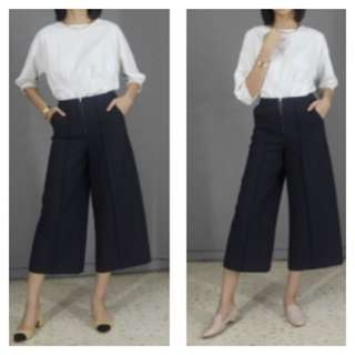 Mark & Spencer Culottes Navy Pants