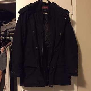 Men's dressy winter jacket