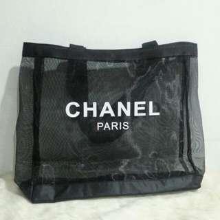 Chanel Transparent Tote Bag