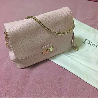 減價 Christian Dior Diorling Rose Pink Classic Handbag