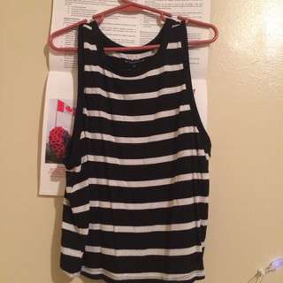 Stripped tank top