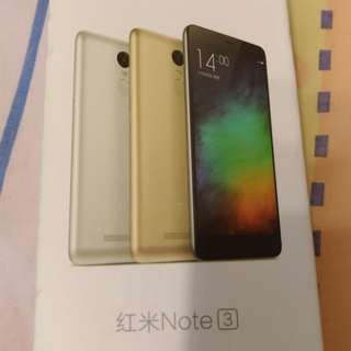 used Xiaomi Redmi Note 3 in good condition. free back cover
